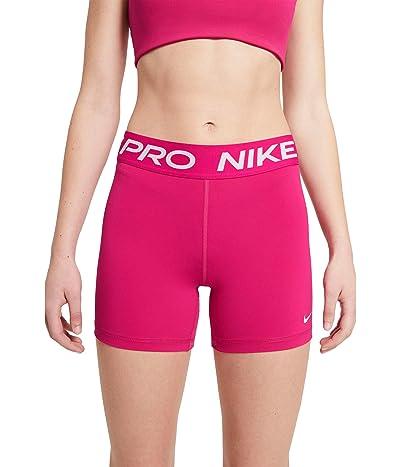 Nike Pro 5 Short (Fireberry/White) Women