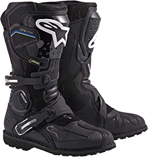 Alpinestars Toucan Gore-Tex Men's Weatherproof Motorcycle Touring Boots (Black, US Size 12)