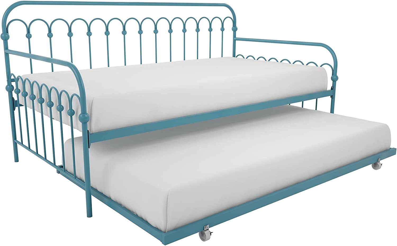 Novogratz Bright Pop Metal Bed Adjustable Discount 5 popular mail order for Under Height