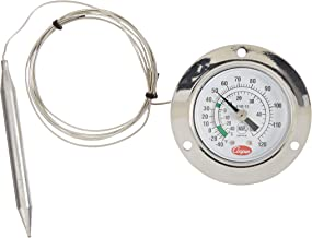 Cooper-Atkins 6142-13-3 Vapor Tension Panel Thermometer with Front Flange, NSF Certified, 48
