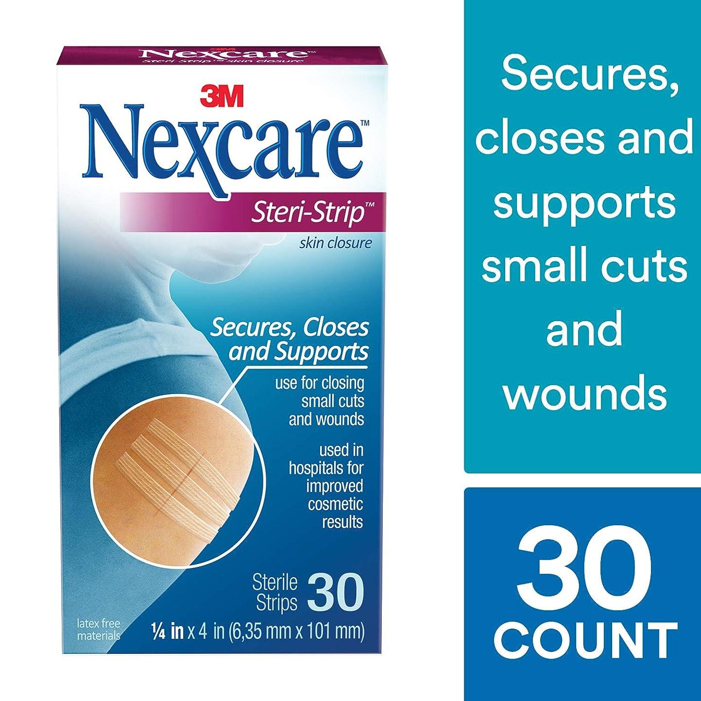 サバント重くするジョイント海外直送品Nexcare Steri-Strip Skin Closure Strips, 0.25