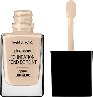 wet n wild Photo focus dewy foundation, Nude Ivory, 1.06 Fl Ounce