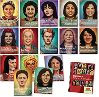 Mujeres revolucionarias Book and Poster Set Bundle