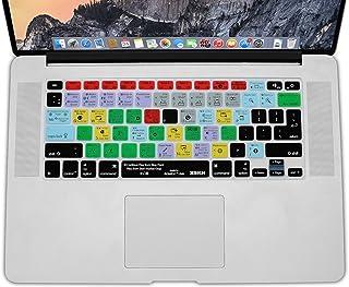 """XSKN Ableton Live, Pellicola protettiva per tastiera inglese, in silicone, per 13""""15"""" 17"""" MacBook Air, MacBook Pro, MacBook Retina versione US UE - Trova i prezzi più bassi"""