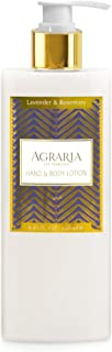 AGRARIA Lavender & Rosemary Luxury Hand and Body Lotion, 8.45 Ounces