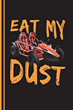 Eat My Dust: Go Kart Journal, Engineering Journal Notebook Planner 4x4 Quad Ruled Graph Paper, 100 Pages  (6