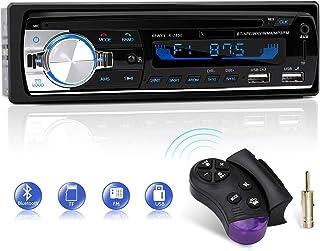 comprar comparacion Autoradio Bluetooth, CENXINY FM 4x65W Radio Para Coche Llamadas Manos Libres Control Remoto Radio stéreo de Coche con Repr...