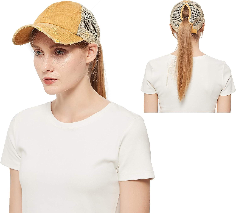 Vintage Ponytail Top Hats for Women National uniform free shipping Bun High Ranking TOP13 Messy Caps Baseball