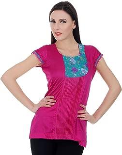 Devaleena Creations Silk Kurta (_Purple_)