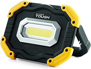 Hyper Tough 1000-Lumen RECHARGEABLE LED WORK LIGHT FOLDABLE HANDLE USB-Port 5V