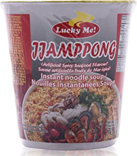 Lucky Me Jjampong Instant Noodle Soup - 70 gm
