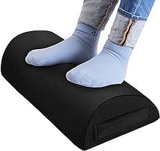 Foot Rest for Under Desk at Work-Ergonomic Under Desk Footrest for Back Hip Leg&Foot Pain Relief-Soft Yet Firm Foot Rest P...
