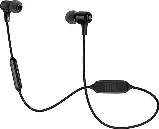 JBL E25BT In Ear Bluetooth Kopfhörer in Schwarz – Kabelloser Ohrhörer mit 3 Tasten Fernbedienung und Mikrofon – Wireless Headphones für bis zu 8 Stunden Musik und Telefonate