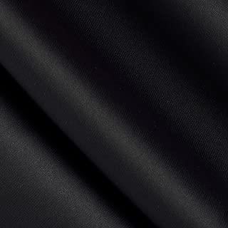 Eroica Black Blackout Drapery Fabric