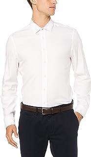 Ben Sherman Men's Long Sleeve Textured 'Camden' Fit Formal Shirt