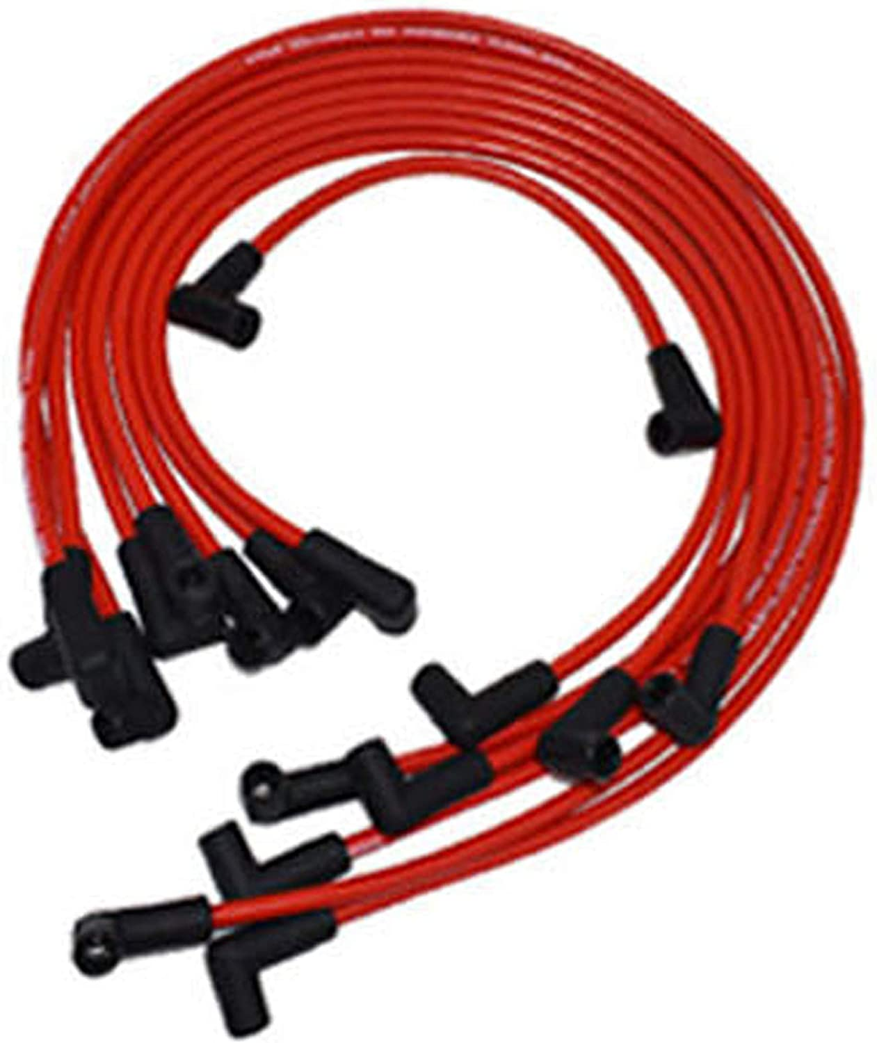 A-Team Clearance SALE Limited time Performance Silicone Spark Plug Automotive Wires Wire Set OFFicial site
