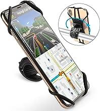 OMOTON Detachable Bike Phone Mount - 360°Rotation Universal Silicone Motorcycle Handlebar Phone Mount for iPhone/Samung/Google/LG/Moto