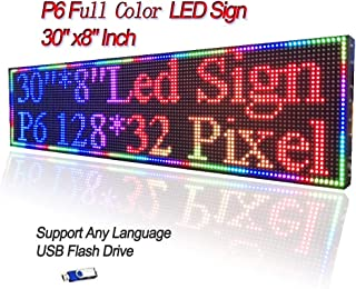 P6 Full Color LED Sign 30