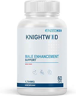 Knightwood for Men - Advanced Male Enhancement Support - Via Pro Maxx Pills Male Blend - 60 Capsules (1 Month Supply)