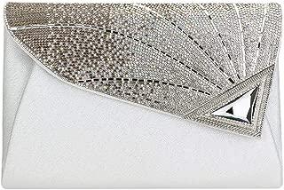 Envelope Clutch Handbag Foldover Glitter Evening Purse Envelope Bridal Handbag for Wedding Party Prom