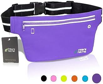 Road Trip Warrior Sport Waist Pack Fanny Pack Adjustable For Travel