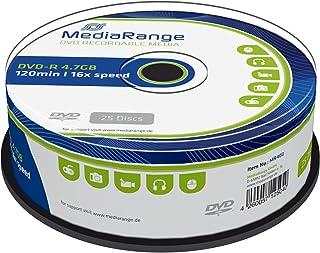 MediaRange MR403 DVD R 4,7GB (16x Speed, 25 Stück)