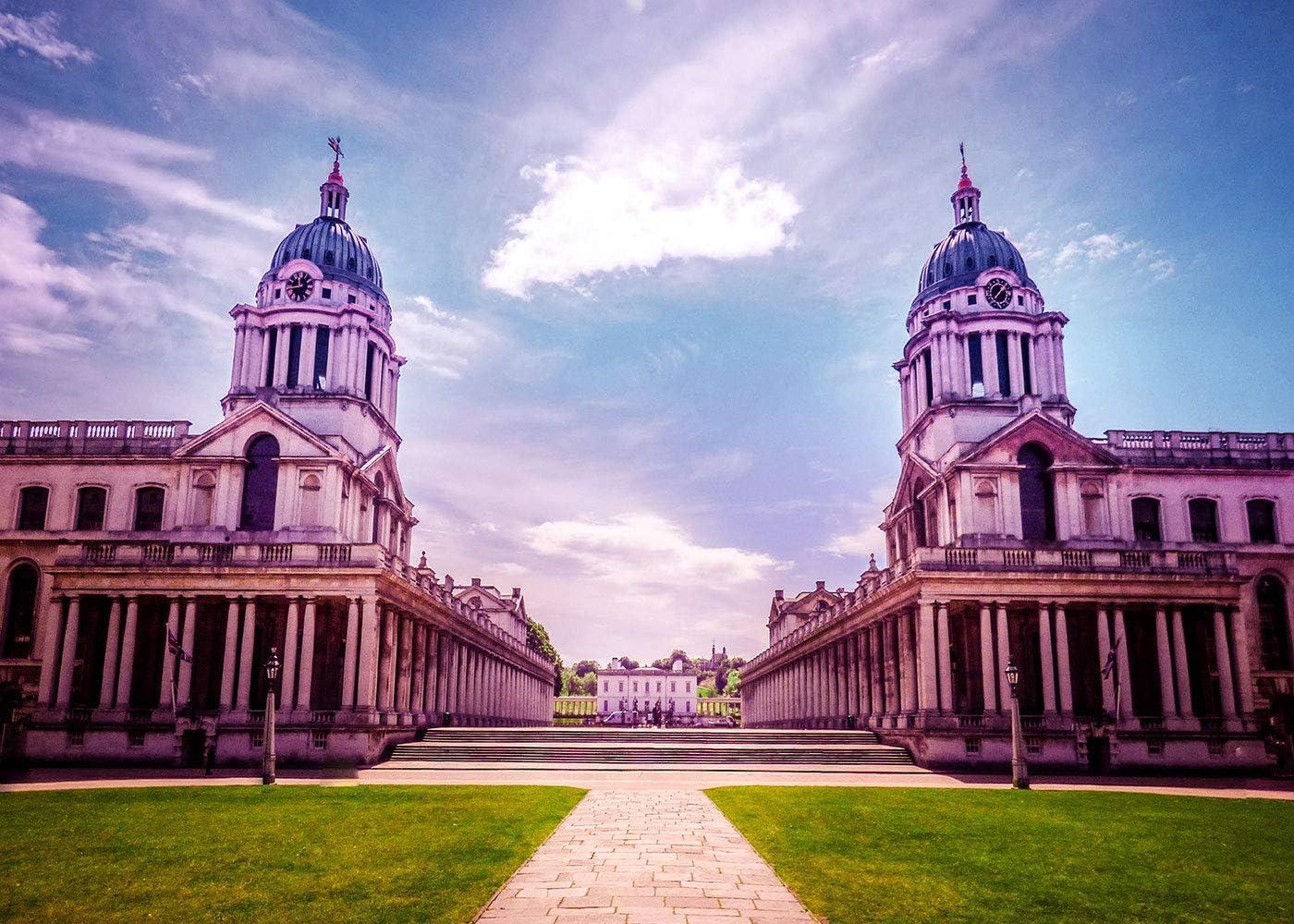15x10ft Greenwich University Architecture Landscape Background London Landscape Background Photography Props LYFU430