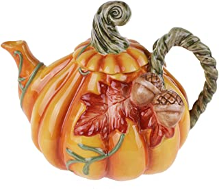 autumn teapot
