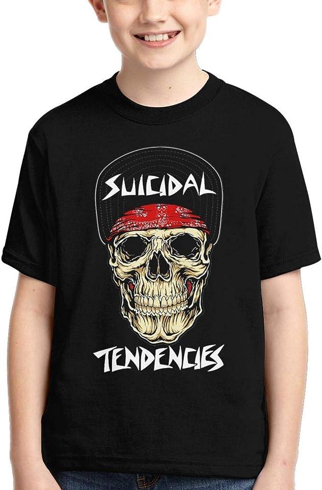 Suicidal Tend-Encies T Shirt for Kids Boys Girls Short Sleeve Tshirt Summer Top Tees