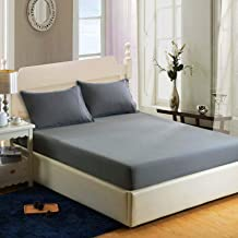Sheets Sanded Bed Cover Multi-Specification Pure Color Bed Sheet Hotel Mattress Simmons Protective Cover Bedding Latex Mat...