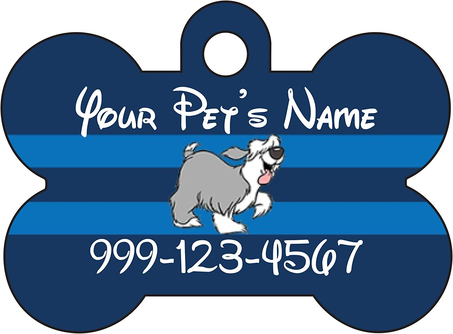 Little Mermaid Max Large Selling special price Pet Id Your Dog Personalized for Tag