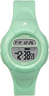Kids Digital Watch - Girls Watches Ages 7-10 - Gifts for 7 Year Old Girl - Gifts for Preteen Girls - Kids Sports Watch - Girls Digital Watch - Kids Silicone Watch - Fila Watch Turquoise
