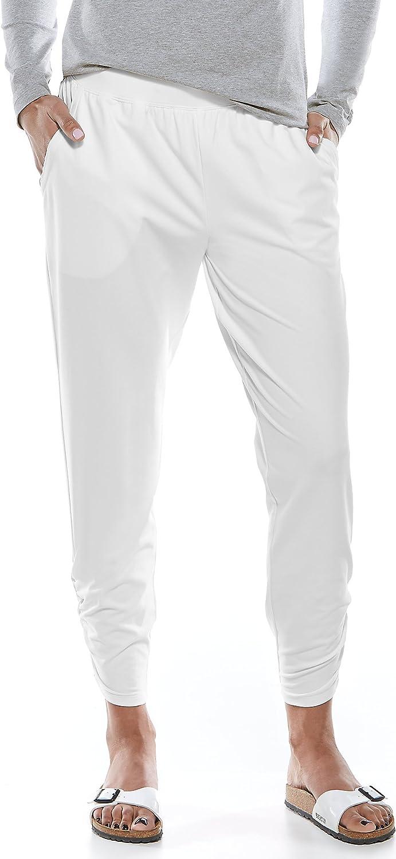 Coolibar UPF 50+ Women's Café Limited price sale Ruche - New arrival Sun Pants Protective