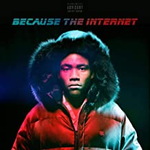 Album Cover Poster Childish Gambino: Because The Internet 12x18 inch Rolled