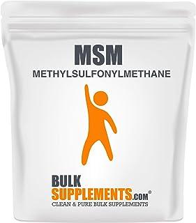 Sponsored Ad - BulkSupplements.com MSM Powder (Methylsulfonylmethane) (1 Kilogram)