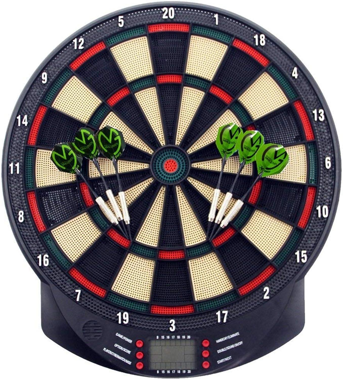 Dartscheibe Elektronisch, Sport Freizeit Elektronische Dartscheibe LCD für 1-8 Spieler e Dart B07JZ52T2B  Haltbarer Service