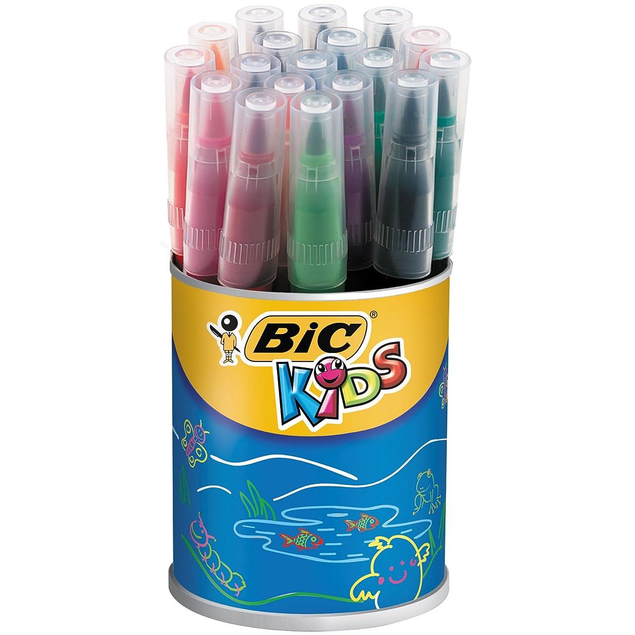 BIC Kids Visaquarelle Colouring Pens 18 Pot