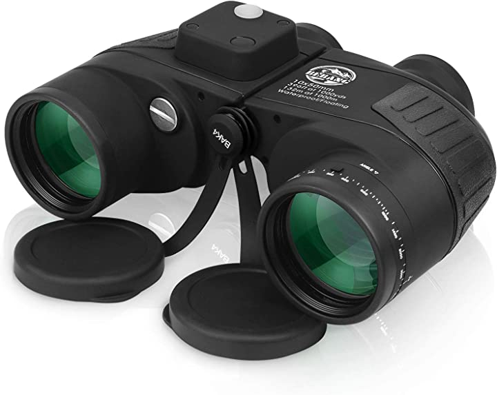 Binocolo nautico professionale potente 10x50 notturno zoom ipx7 impermeabile bebang K-022