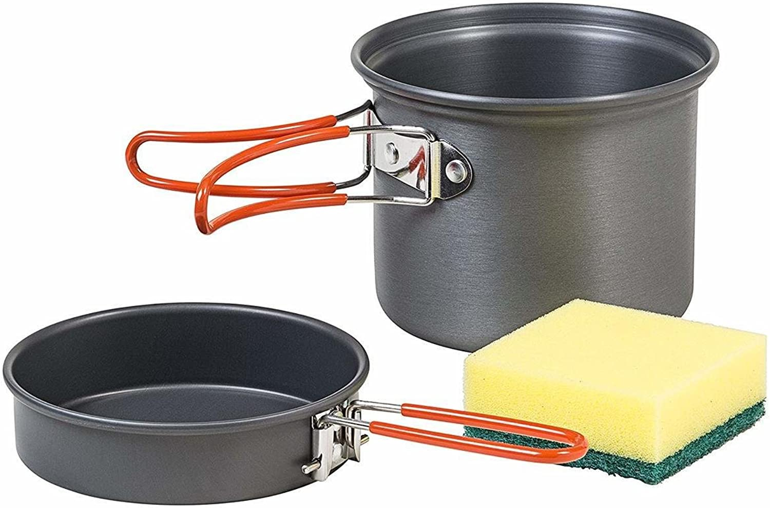 AceCamp Solo Cooking Set Hard-Anodized Aluminum