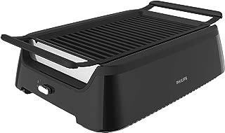 Philips Indoor Smoke-less Grill plus Bonus Cleaning Tool, HD6371/98 (Renewed)