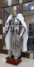 THORINSTRUMENTS (with device) Medieval Wearable Knight CRUSADOR Full Suit of Armour Collectibles Armor Costume