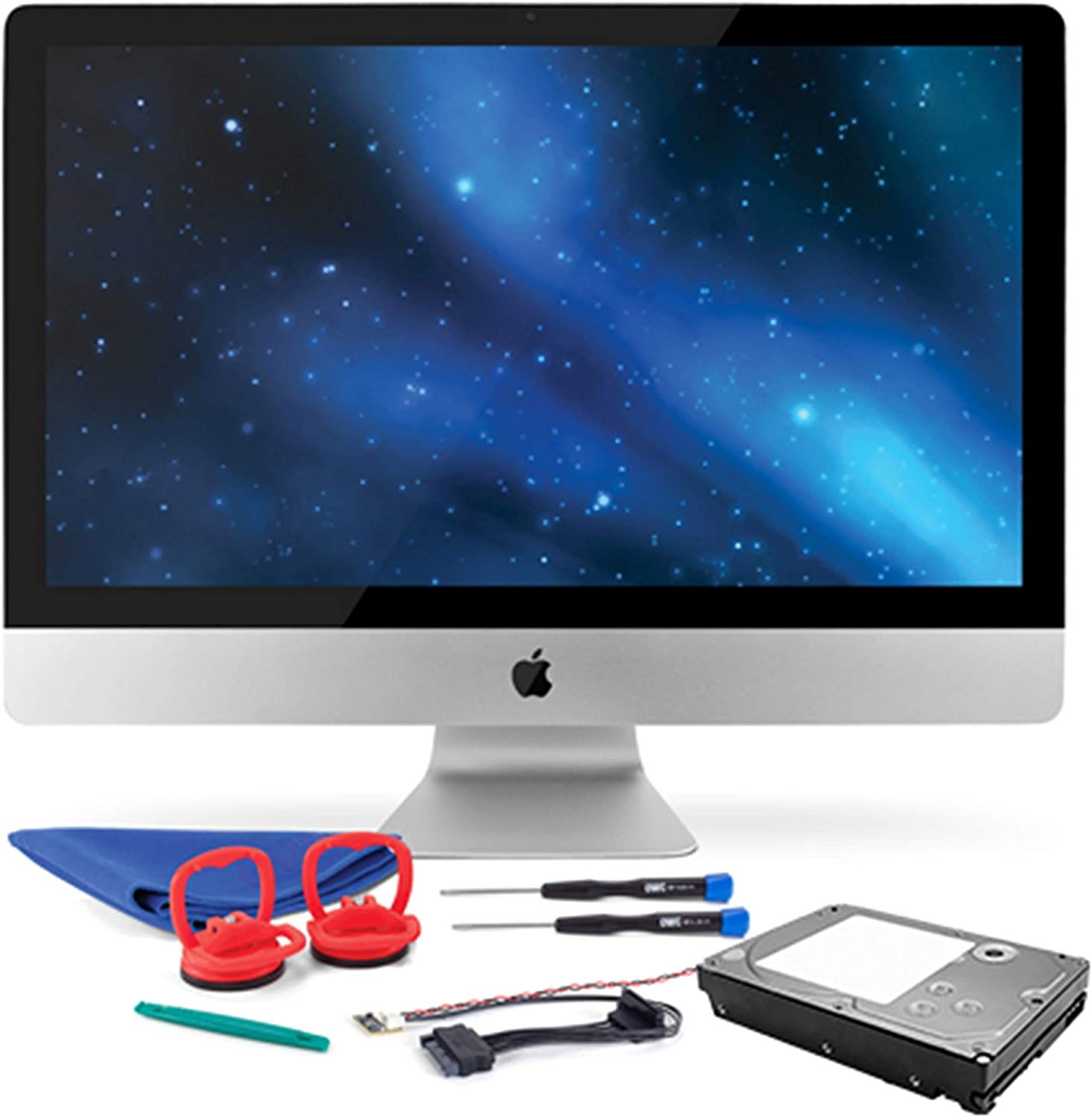 OWC 2.0TB HDD Upgrade Kit Compatible With 2009-2010 iMacs, Includes: Thermal Sensor, Tools, 2.0TB Hard Drive