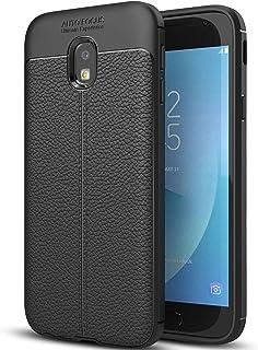 Samsung Galaxy J3 Pro (2017) Case, Galaxy J3 Pro (2017) Faux Leather Case, Soft Case Anti-Slip TPU Cover for 5.0'' Samsung Galaxy J3 Pro (2017)