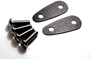 Mirror Block Plates for the Kawasaki Ninja 250R / 500R / 650R / ZX-6R / Z750S + OTHERS