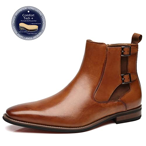 bb5b214393153 La Milano Mens Winter Chukka Suede Ankle Dress Boots Leather Lace up Oxford  Classic Comfortable Boots