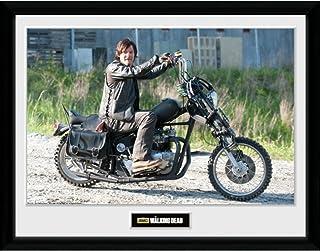 WALKING DEAD ウォーキングデッド (最終シーズン米8月放送) - Daryl Bike/インテリア額 【公式/オフィシャル】