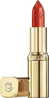 L'Oréal Paris Color Riche 377 Perfect Red, färgintensivt läppstift med arganolja och E-vitamin, vårdar läpparna, satin finish