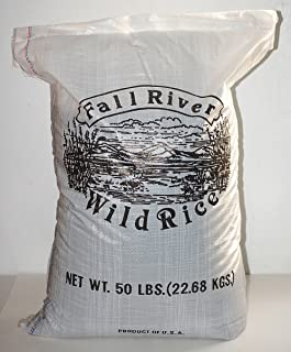 Fall River Wild Rice 50 LB Bag-Fancy