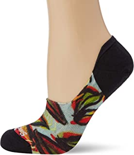Women's Curated Pachanga No Show Calcetines, Multicolor (Multi Color 150), Medium para Mujer