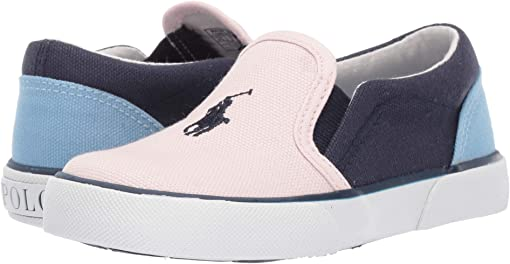 Light Pink/Navy/Blue Canvas/Navy Pony